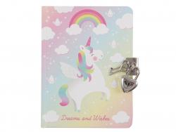 Acheter Journal intime licorne - Sass and Belle - 11,99€ en ligne sur La Petite Epicerie - Loisirs créatifs
