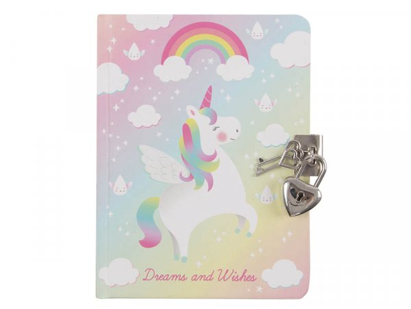 Acheter Journal intime licorne - Sass and Belle - 2,39€ en ligne sur La Petite Epicerie - 100% Loisirs créatifs