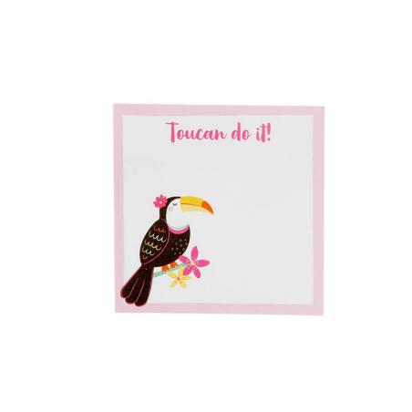 """Acheter Post-it """"Toucan do it"""" - Sass and Belle - 3,09€ en ligne sur La Petite Epicerie - 100% Loisirs créatifs"""