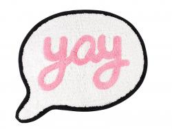 """Acheter Tapis de salle de bain """"Yay"""" - Sass and Belle - 8,99€ en ligne sur La Petite Epicerie - Loisirs créatifs"""