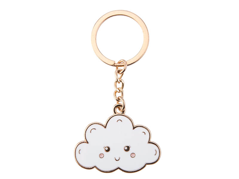 Acheter Porte-clés Nuage souriant - Sass and Belle - 5,99€ en ligne sur La Petite Epicerie - Loisirs créatifs