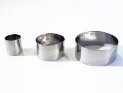 3 Ausstechformen - Kreise