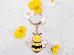 Acheter Porte-clés Abeille - Sass and Belle - 5,99€ en ligne sur La Petite Epicerie - Loisirs créatifs