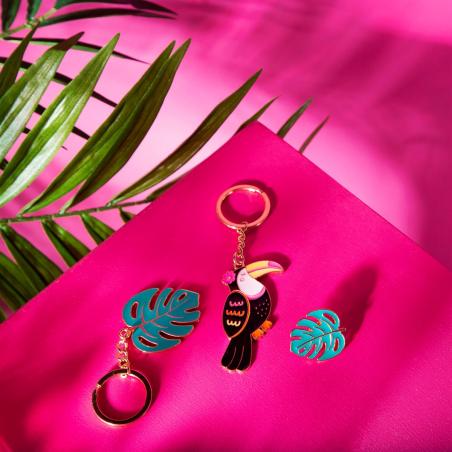 Acheter Porte-clés Toucan coloré - Sass and Belle - 4,79€ en ligne sur La Petite Epicerie - Loisirs créatifs