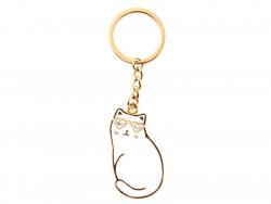 Acheter Porte-clés Chat lunettes coeur - Sass and Belle - 4,79€ en ligne sur La Petite Epicerie - 100% Loisirs créatifs