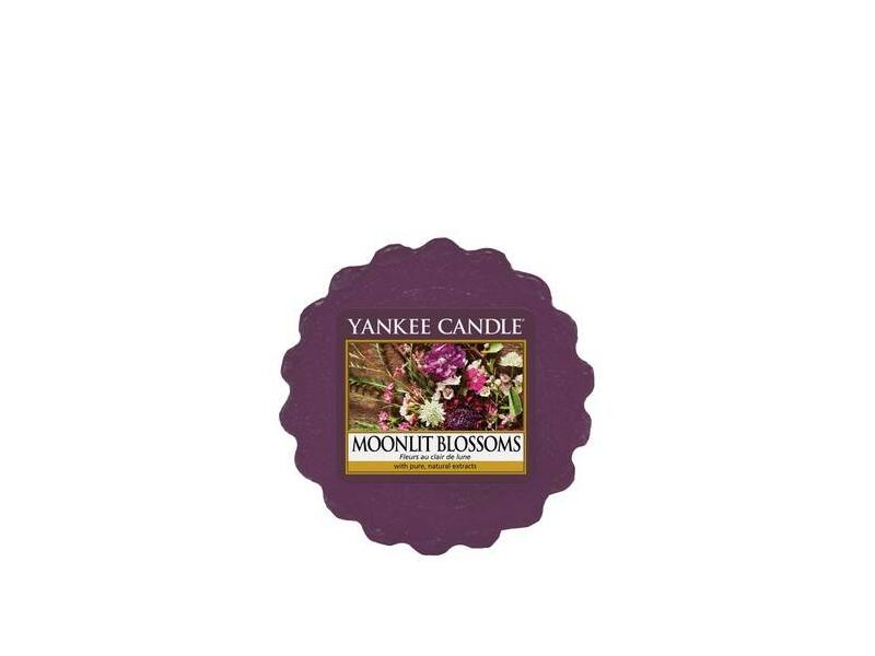 acheter bougie yankee candle fleurs au clair de lune moonlit blossoms tartelette de cire