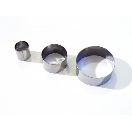Acheter 3 emporte-pièces RONDS - 4,99€ en ligne sur La Petite Epicerie - 100% Loisirs créatifs