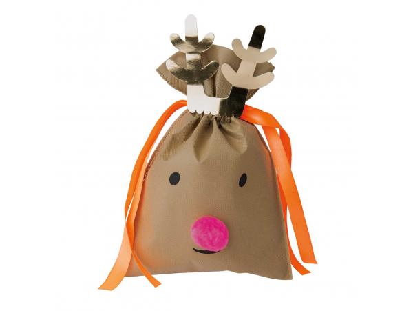 Acheter Sachet cadeau renne de Noël 20 x 30 cm - Rico Design - 2,19€ en ligne sur La Petite Epicerie - Loisirs créatifs