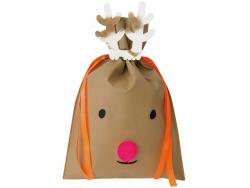 Acheter Sac cadeau Renne de Noël 30 x 45 cm - Rico Design - 3,09€ en ligne sur La Petite Epicerie - Loisirs créatifs