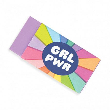 Acheter Lot de 4 gommes Girl Power - Ooly - 4,49€ en ligne sur La Petite Epicerie - Loisirs créatifs