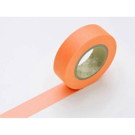 Acheter Masking tape uni - orange fluo - 2,90€ en ligne sur La Petite Epicerie - Loisirs créatifs