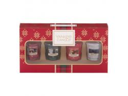 Acheter Coffret Noël - 4 bougies votives - Yankee Candle - 9,95€ en ligne sur La Petite Epicerie - 100% Loisirs créatifs