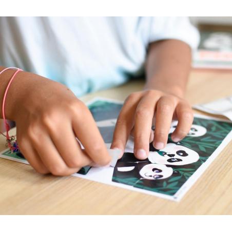 Acheter 3 Sticker Puzzles Wild Animals - Poppik - 9,79€ en ligne sur La Petite Epicerie - Loisirs créatifs
