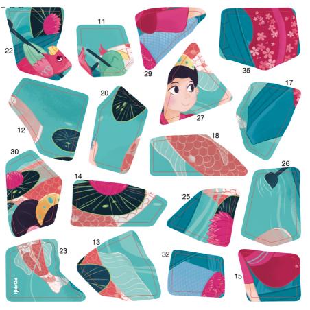 Acheter 3 Sticker Puzzles Princesses - Poppik - 9,79€ en ligne sur La Petite Epicerie - Loisirs créatifs