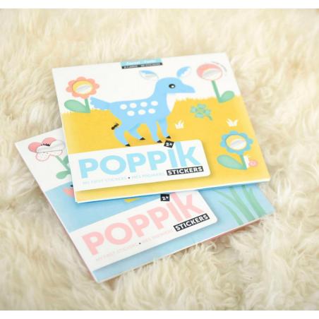 Acheter Mes premières gommettes : les animaux de la forêt - Poppik - 9,79€ en ligne sur La Petite Epicerie - Loisirs créatifs
