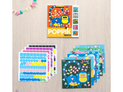 Acheter Mes cartes en stickers - Les Animaux - Poppik - 6,79€ en ligne sur La Petite Epicerie - Loisirs créatifs