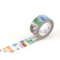 Masking tape motif  taille M - patchwork carreaux