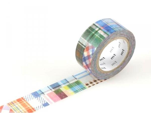 Masking tape motif  taille M - patchwork carreaux Masking Tape - 1