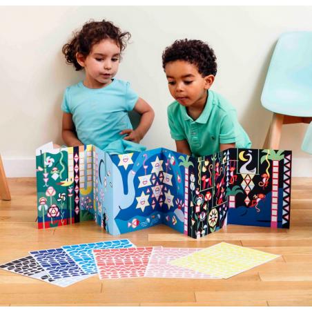 Acheter Ma mosaïque en stickers - La jungle - Poppik - 12,99€ en ligne sur La Petite Epicerie - Loisirs créatifs