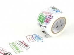 Patterned Masking Tape - Size L - Stamps