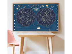 Acheter Mon poster Carte du ciel - Poppik - 18,79€ en ligne sur La Petite Epicerie - 100% Loisirs créatifs