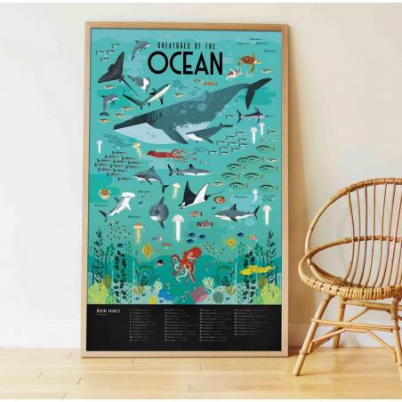 Acheter Mon poster Océans - Poppik - 16,79€ en ligne sur La Petite Epicerie - Loisirs créatifs