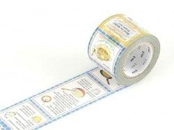 Masking tape motif  taille L - recettes Masking Tape - 1