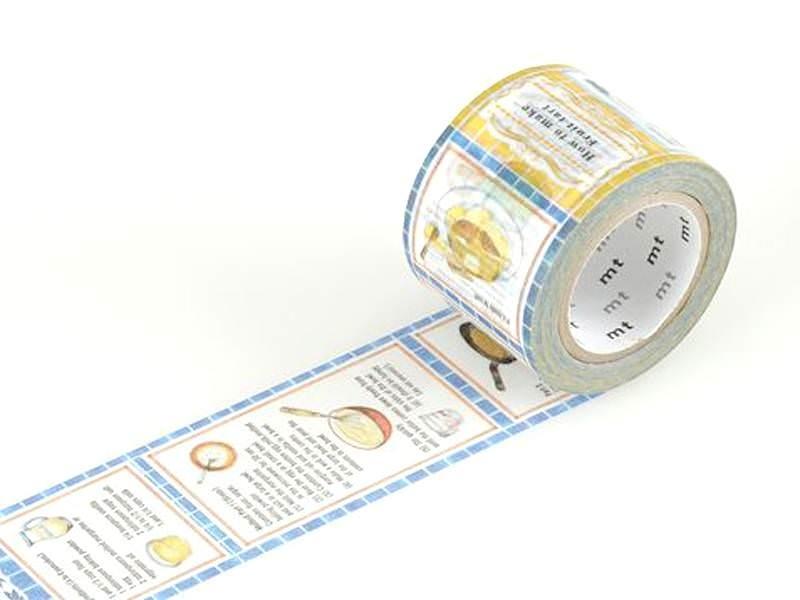 Patterned Masking Tape - Size L - Recipes