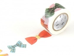 Masking Tapewith a bow pattern - 25 mm