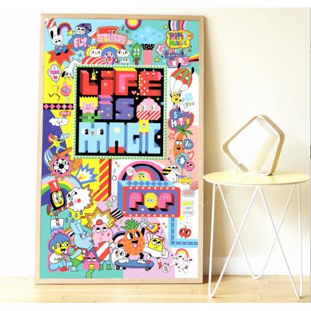 Acheter Mon poster Street Art - Poppik - 15,79€ en ligne sur La Petite Epicerie - 100% Loisirs créatifs