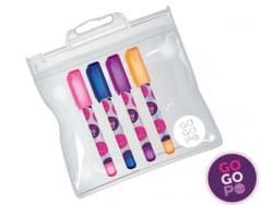 Acheter Set de 4 mini stylos gel - Gogopo - 2,49€ en ligne sur La Petite Epicerie - Loisirs créatifs