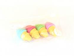 Acheter Pack de 4 gommes ice cream - Gogopo - 2,49€ en ligne sur La Petite Epicerie - Loisirs créatifs