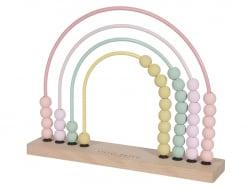 Acheter Arc en ciel boulier - rose - Little Dutch - 14,99€ en ligne sur La Petite Epicerie - 100% Loisirs créatifs