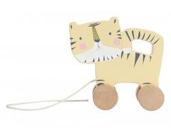 Acheter Jouet à tirer en bois - tigre - Little Dutch - 8,99€ en ligne sur La Petite Epicerie - Loisirs créatifs