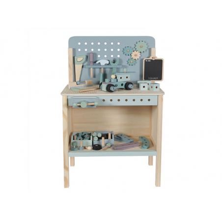 Acheter Grand établi en bois couleur menthe - Little Dutch - 99,95€ en ligne sur La Petite Epicerie - Loisirs créatifs