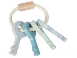 Acheter Trousseau de clés en bois - bleu - Little Dutch - 8,99€ en ligne sur La Petite Epicerie - 100% Loisirs créatifs