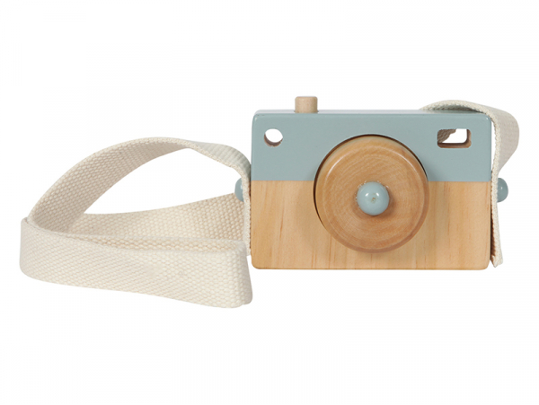 Acheter Appareil Photo en Bois - bleu - Little Dutch - 8,99€ en ligne sur La Petite Epicerie - Loisirs créatifs