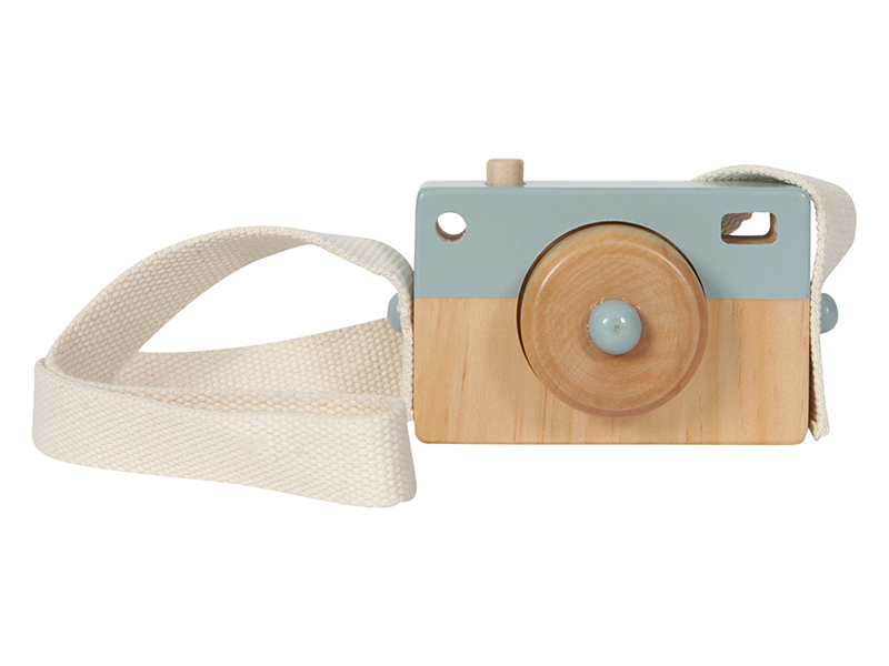 Acheter Appareil Photo en Bois - bleu - Little Dutch - 8,99€ en ligne sur La Petite Epicerie - 100% Loisirs créatifs