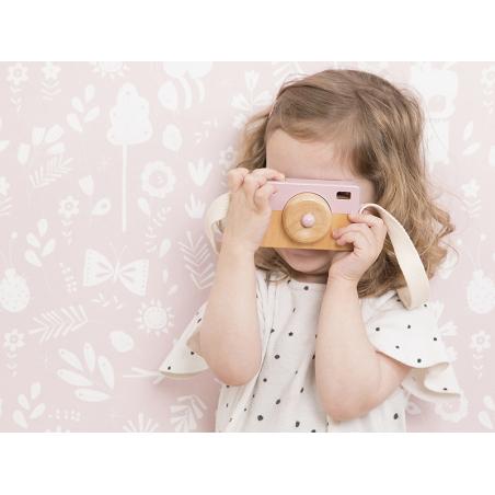 Acheter Appareil Photo en Bois - rose - Little Dutch - 8,99€ en ligne sur La Petite Epicerie - Loisirs créatifs