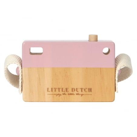 Acheter Appareil Photo en Bois - rose - Little Dutch - 8,99€ en ligne sur La Petite Epicerie - 100% Loisirs créatifs