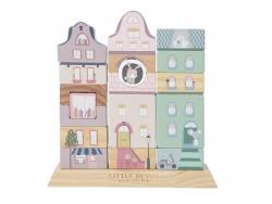 Acheter Façade à empiler - rose - Little Dutch - 16,99€ en ligne sur La Petite Epicerie - 100% Loisirs créatifs