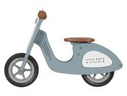 Acheter Draisienne scooter en bois - bleu - Little Dutch - 89,99€ en ligne sur La Petite Epicerie - Loisirs créatifs