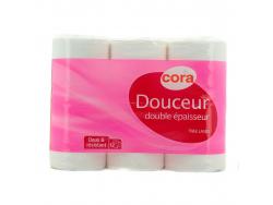 Acheter Lot de 12 rouleaux de papier toilette (ATTENTION : LOT DE 12 ROULEAUX) - 4,20€ en ligne sur La Petite Epicerie - Loi...