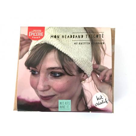 Acheter KIT MKMI - Mon headband tricoté - 16,99€ en ligne sur La Petite Epicerie - Loisirs créatifs