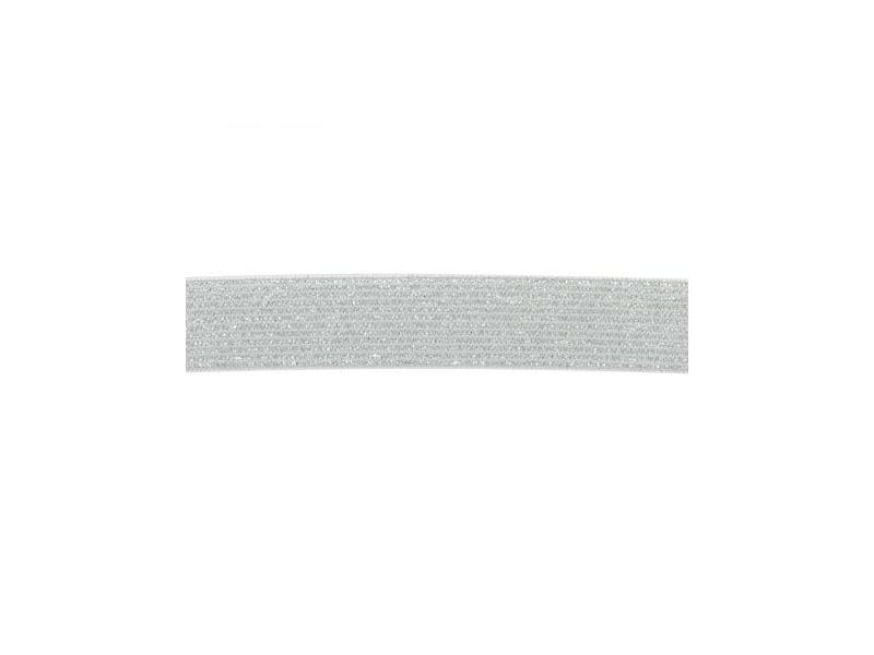 Acheter Elastique Lurex argenté / blanc 20 mm - 1,99€ en ligne sur La Petite Epicerie - Loisirs créatifs
