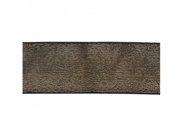 Acheter Elastique noir lurex doré 40 mm - 4,49€ en ligne sur La Petite Epicerie - Loisirs créatifs