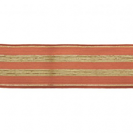 Acheter Elastique rouille à rayures en lurex doré 30 mm - 4,49€ en ligne sur La Petite Epicerie - 100% Loisirs créatifs