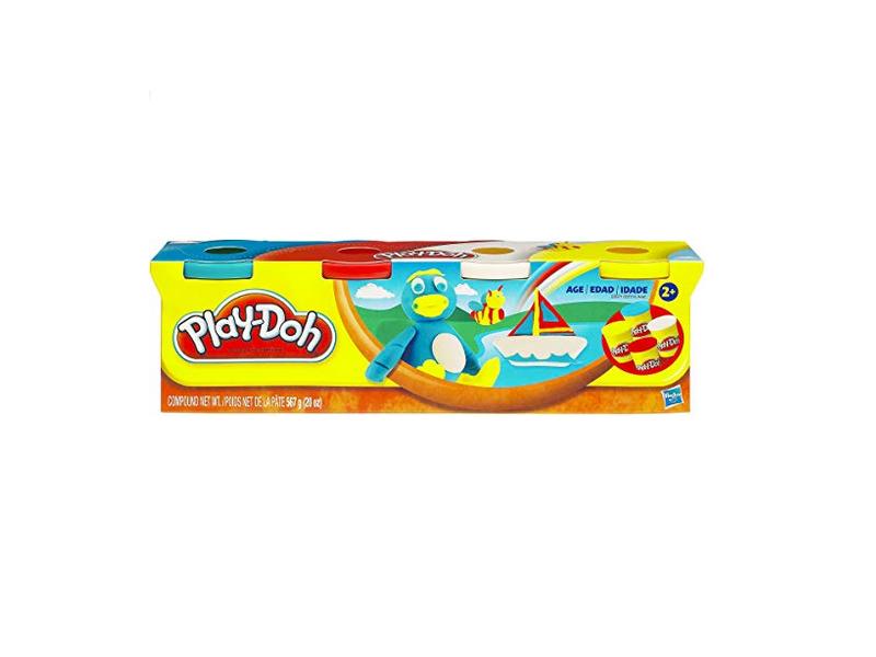Acheter 4 pots de pâte à modeler - couleurs classiques - Play Doh - 6,99€ en ligne sur La Petite Epicerie - Loisirs créatifs