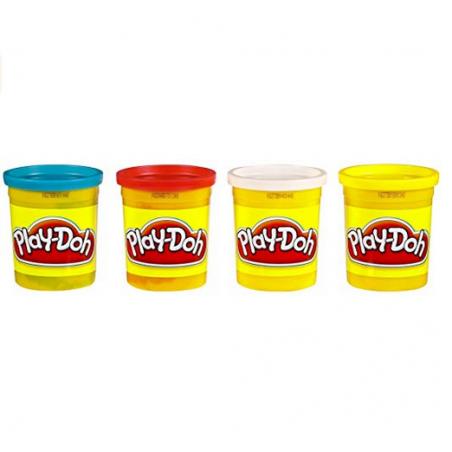 Acheter 4 pots de pâte à modeler - couleurs classiques - Play Doh - 6,99€ en ligne sur La Petite Epicerie - 100% Loisirs cré...