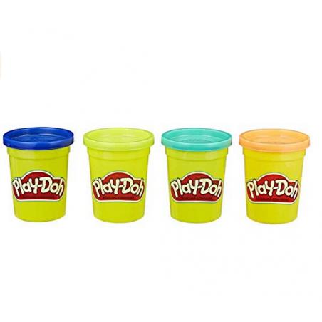 Acheter 4 pots de pâte à modeler - couleurs nature - Play Doh - 6,99€ en ligne sur La Petite Epicerie - 100% Loisirs créatifs
